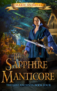 The Sapphire Manticore -- Marie Andreas